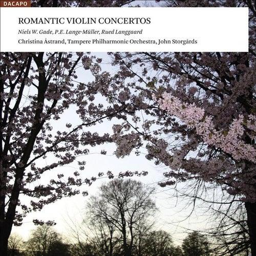 Violin Concertos (Danish) - Gade, N.W. / Lange-Muller, P.E. / Langgaard, R. by Christina Astrand