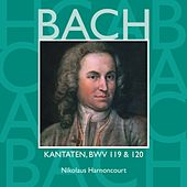 Bach, JS : Sacred Cantatas BWV Nos 119 & 120 by Nikolaus Harnoncourt
