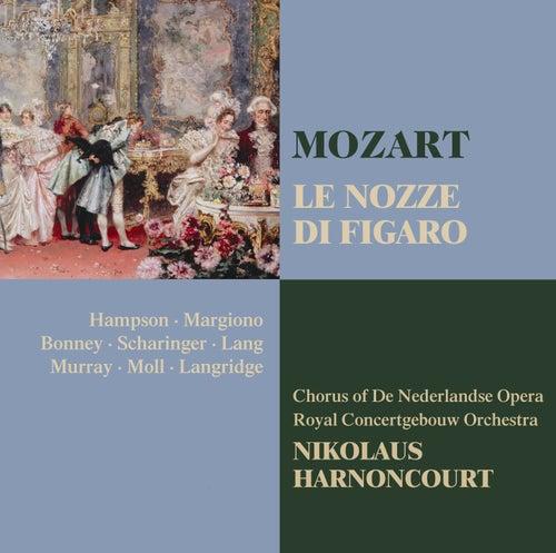 Mozart : Le nozze di Figaro by Nikolaus Harnoncourt