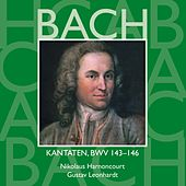 Bach, JS : Sacred Cantatas BWV Nos 143 - 146 by Various Artists