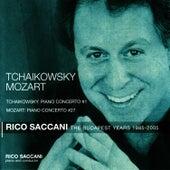 Tchaikovsky: Piano Concerto No. 1 - Mozart: Piano Concerto No. 27 by Rico Saccani