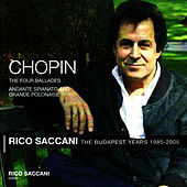 Chopin: Andante Spianato and Grande Polonaise, The Four Ballades by Rico Saccani