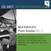 Beethoven: Piano Sonatas, Vol. 5 by Idil Biret