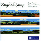 English Song by Peter Pears