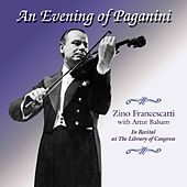 An Evening of Paganini by Zino Francescatti