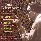 Brahms: Variations On A Theme by Haydn / Schubert: Symphony No. 4 / Strauss, R.: Till Eulenspiegels Lustige Streiche (Klemperer) (1957) by Otto Klemperer