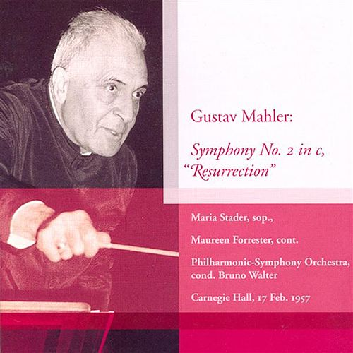 Mahler, G.: Symphony No. 2 (Walter) (1957) by Maureen Forrester