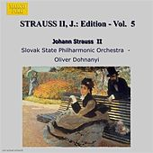 Strauss Ii, J.: Edition - Vol.  5 by Oliver Dohnanyi