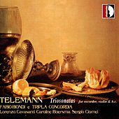 Georg Philipp Telemann: Triosonatas for recorder violin & bc by Fabio Biondi