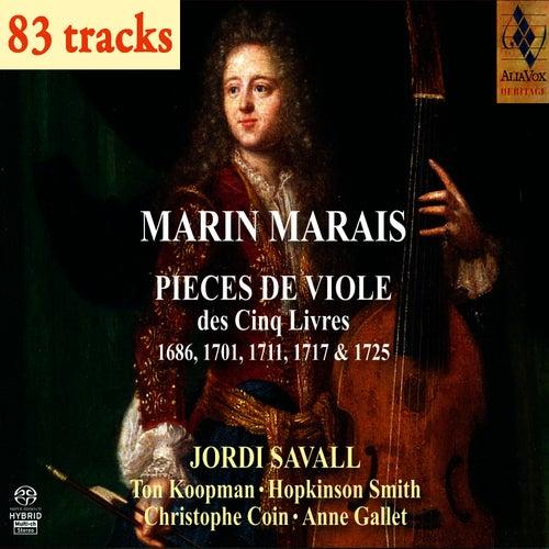 Marin Marais : 5 Livres pour Viole by Jordi Savall