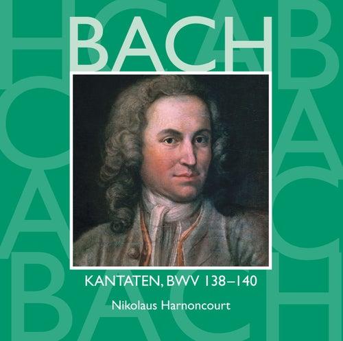 Bach, JS : Sacred Cantatas BWV Nos 138 - 140 by Nikolaus Harnoncourt