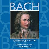 Bach, JS : Sacred Cantatas BWV Nos 91 - 93 by Various Artists