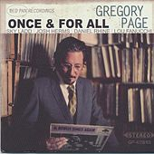 Once & For All by Gregory Page