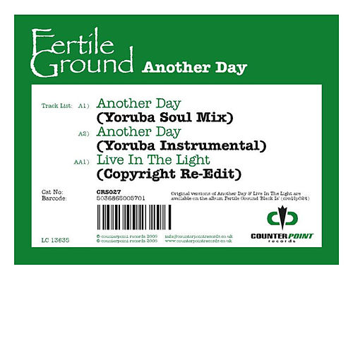 Another Day (Osunlade Remixes) by Fertile Ground