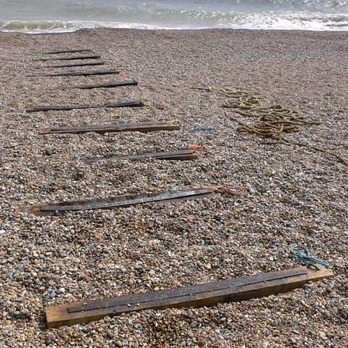 On A Desolate Shore A Shadow Passes By by Fennesz