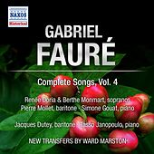 Faure: Complete Songs, Vol. 4 by Various Artists