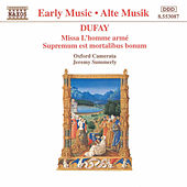 Dufay: Missa L' Homme Arme by Jeremy Summerly