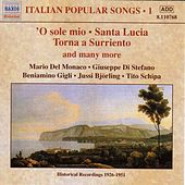 Italian Popular Songs, Vol.  1 (1930-1950) by Various Artists