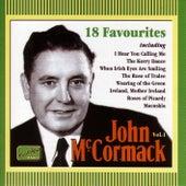 Mccormack, John: 18 Favourites (1911-1936) by John McCormack