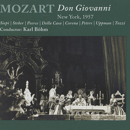 Mozart: Don Giovanni by Jan Peerce