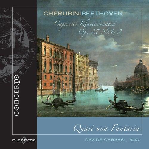 Cherubini: Capriccio - Beethoven: Klaviersonaten, Op. 27, Nos. 1, 2 by Davide Cabassi