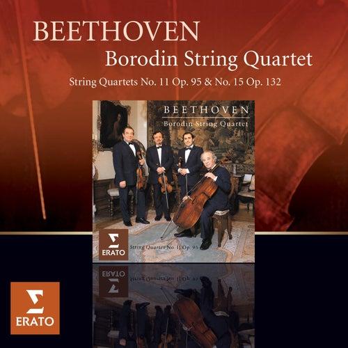 Beethoven : String Quartets opp 95 & 132 by Borodin Quartet