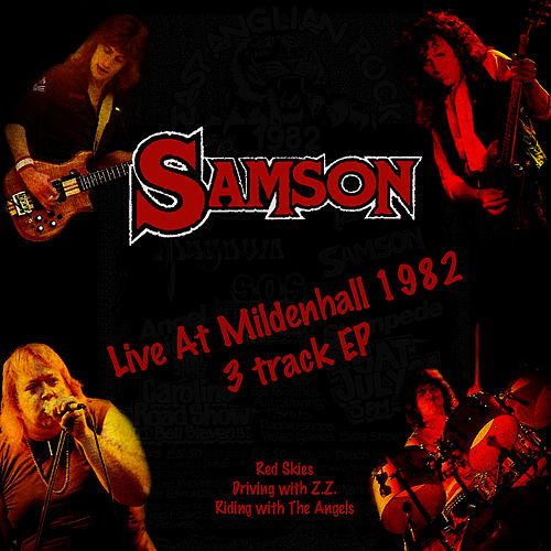 Live At Mildenhall 1982 EP by Samson