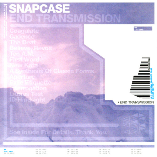 End Transmission by Snapcase