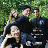 String Quartets of Sibelius, Stravinsky and Ravel by Daedalus Quartet