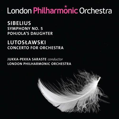 Sibelius: Symphony No. 5 - Lutoslawski: Concerto for Orchestra by Jukka-Pekka Saraste