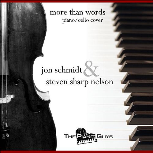 More Than Words - Piano/cello Cover - Single by Jon Schmidt