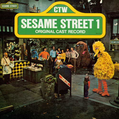 Sesame Street: Sesame Street 1 Original Cast Record, Vol. 2 by Various Artists