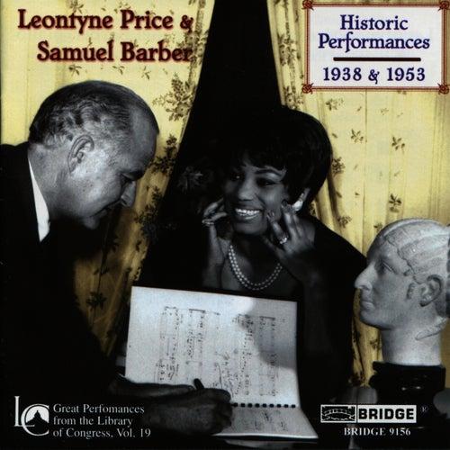 Leontyne Price and Samuel Barber: Historic Performances by Leontyne Price