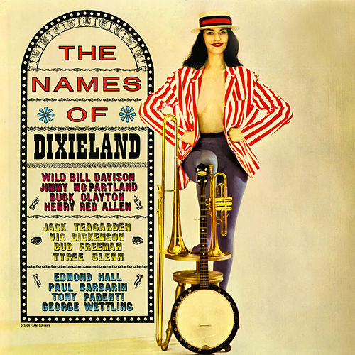 The Names Of Dixieland by Various Artists