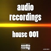 Audio Recordings House 001 by Various Artists