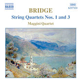 Bridge: string quartets Nos. 1 and 3 by Various Artists