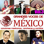 Grandes Voces de México. Canciones Mexicanas, Rancheras y Corridos Vol.3 by Various Artists
