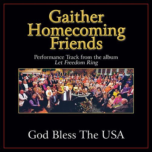 God Bless the U.S.A. Performance Tracks by Various Artists