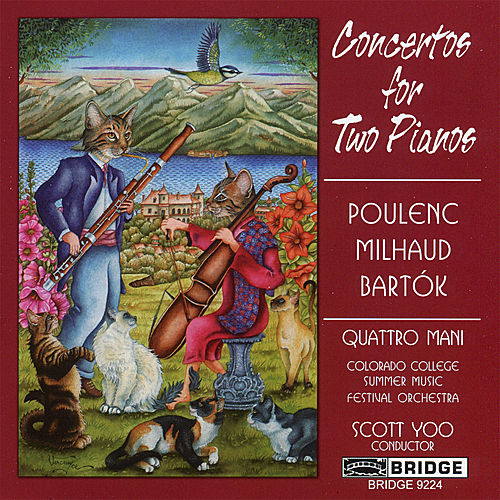 Concertos for Two Pianos by Quattro Mani