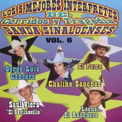 Los 5 Mejores Interpretes de Corridos y Tragedia Banda Sinaloenses by Chalino Sanchez