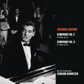 Brahms: Symphony No. 2 in D major, op. 73; Symphony No. 3 in F major, op. 90 von Leonard Bernstein