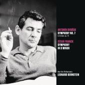 Dvorak: Symphony No. 7 in D minor, op. 70; Franck: Symphony in D minor von Leonard Bernstein