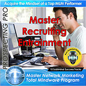 Prospecting Pro - Master Network Marketing Total Mindware Program by Brain Entrainment Mindware