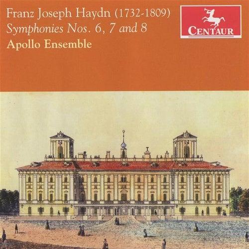 Haydn: Symphonies Nos. 6, 7 & 8 by David Rabinovich