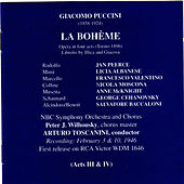 Puccini: La Bohème by Jan Peerce