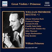 Primrose: Recital, Vol. 1 by Various Artists