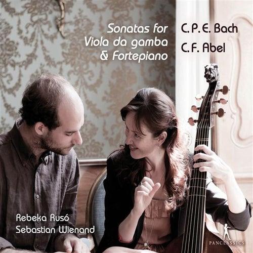 C.P.E. Bach & Abel: Sonatas for Viola da gamba & Fortepiano by Rebeka Ruso