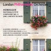 Honegger: Pastorale d'ete - Symphony No. 4 - Une cantate de Noël by Vladimir Jurowski