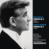 Mahler: Symphony No. 3 in D minor (Movt. VI); Randall Thompson: Symphony No. 2 in E minor by Leonard Bernstein