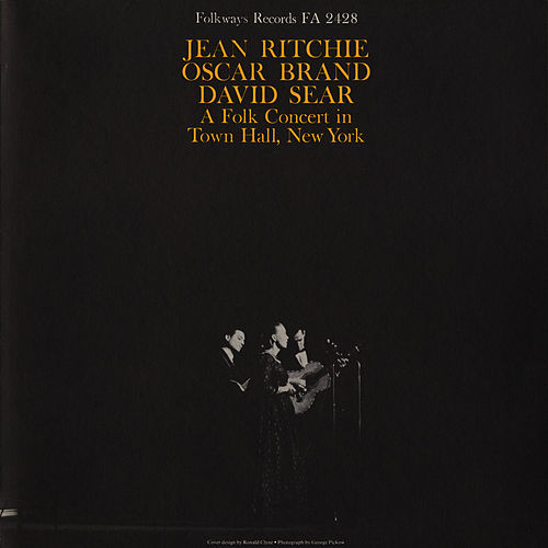 A Folk Concert in Town Hall, New York by Jean Ritchie